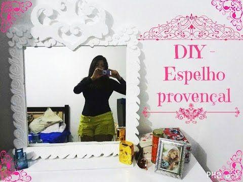 DIY- Como fazer moldura provençal sem gastar quase nada!!!