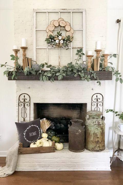 23+ Fireplace mantel decorating ideas photos inspirations