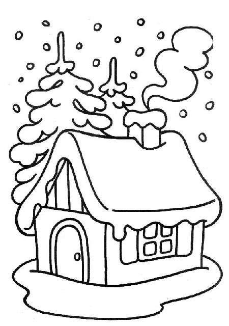 xmas+coloring+christmas_house.jpg (450×640)