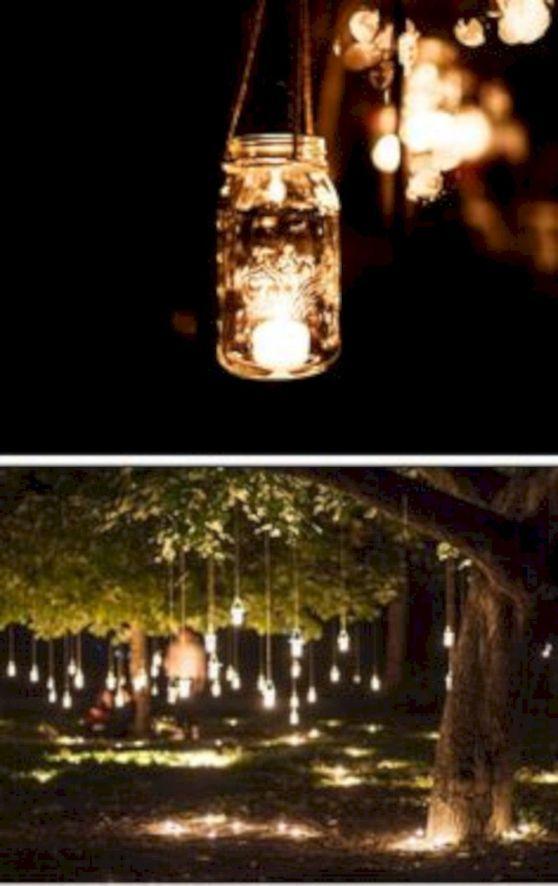 10+ Backyard wedding lighting ideas information