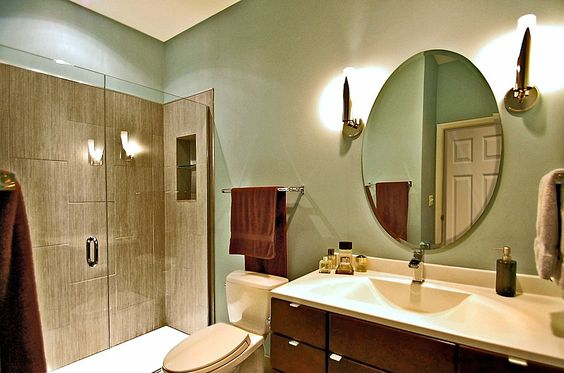 Love it. Modern 3/4 Bathroom - Come find more on Zillow Digs!