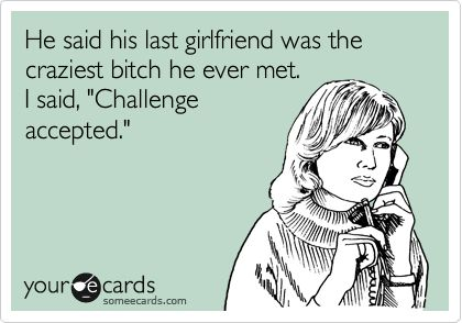 Challenge Accepted. hahah