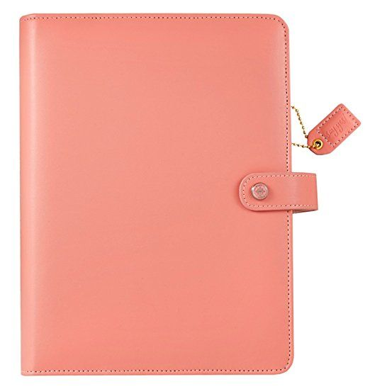 A5 Mint Floral Planner Binder Personal Organizer Refillable 6-hole Standard Gold Colored Ring Binder with Card Slots Websters Pages