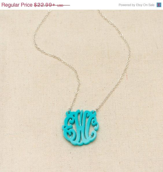 Valentines Day SALE HandCrafted 3 Initials by CardinalGift on Etsy, $19.99