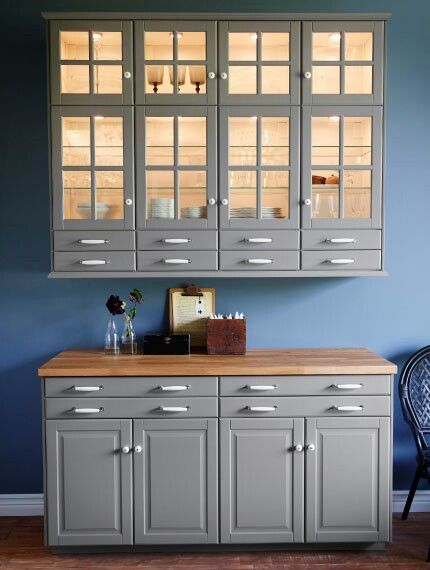 Grijze keuken Ikea kitchen Pinterest - ikea küchen landhaus