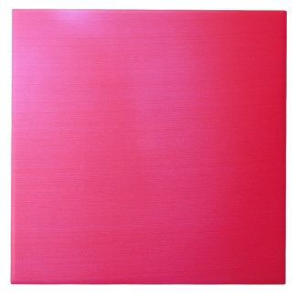 Metallic Hot Pink Large Square Tile