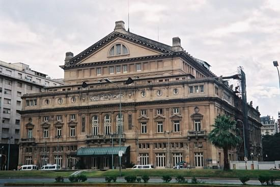 Teatro Colon, Buenos Aires, Argentina.