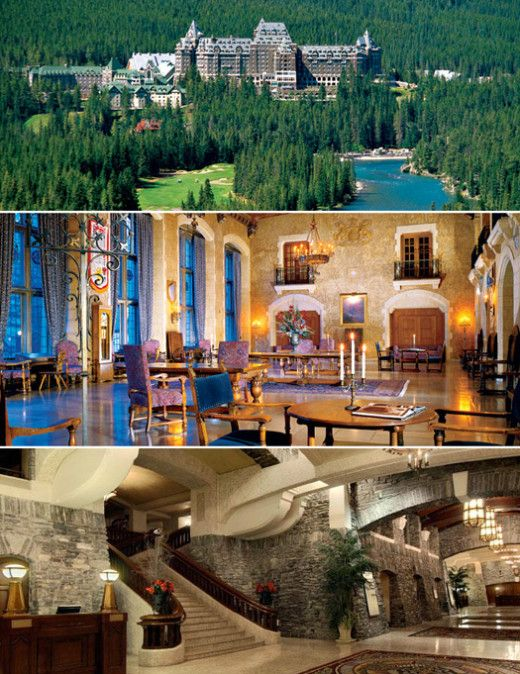 18. Stay at the Fairmont Banff Springs