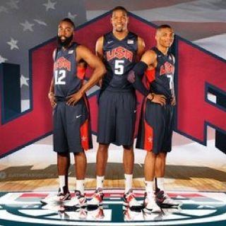 Thunder's Three on Team USA
