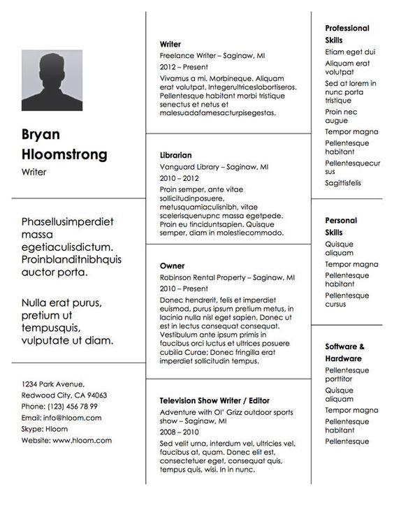 Resume Employment History employment resume format employment history on resume formatting Your Employment History Stacked Up In Block Form 21 Free Rsum Designs Every Job