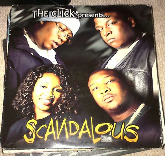 "E40 and The Click Scandalous / Hurricane / Wolf Tickets 12""  90s Hip Hop Vinyl"