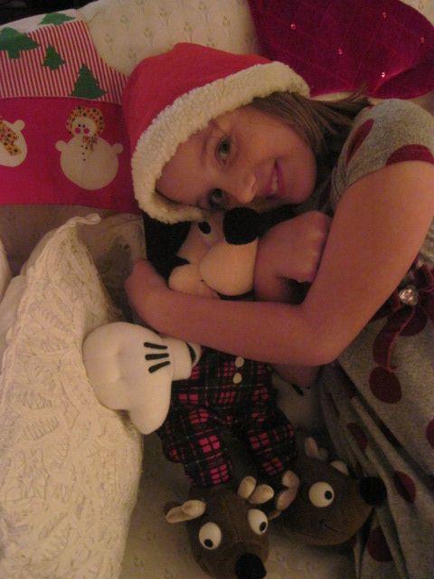 she loves mickey