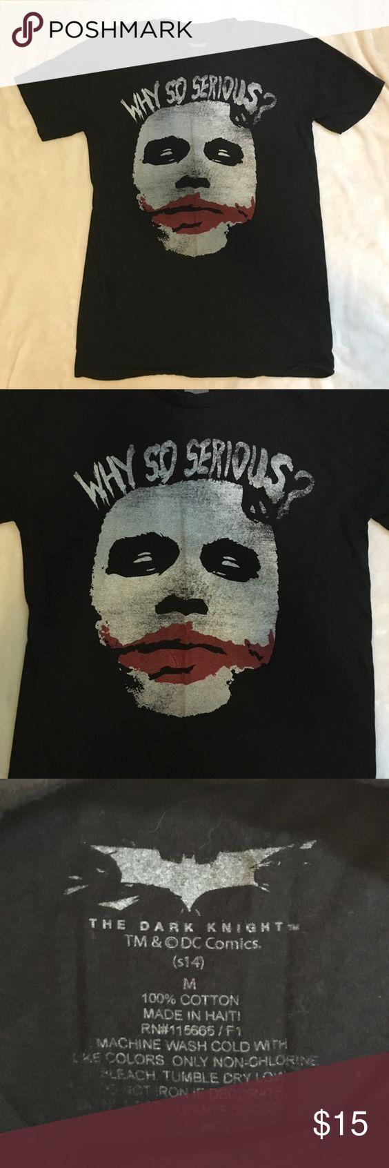 Black t shirts kohls - Batman T Shirt By Kohl S Features The Dark Knight Trilogy S Joker Heath Ledger