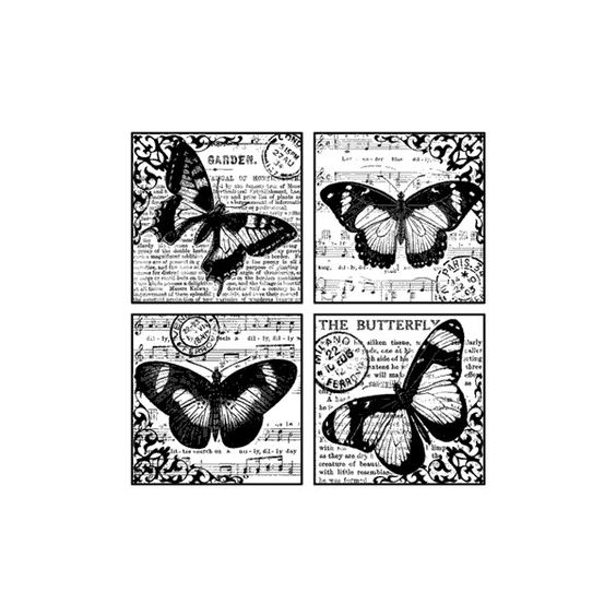 Blade Rubber Stamps Unmounted Sheets of Rubber stamps Crafty... (12 CAD) ❤ liked on Polyvore featuring backgrounds and art