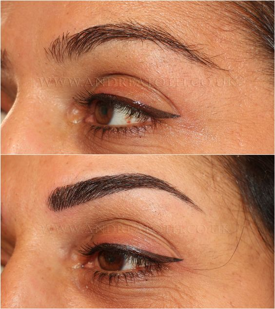 hair stroke eyebrows and eyeliner semi permanent makeup. Black Bedroom Furniture Sets. Home Design Ideas