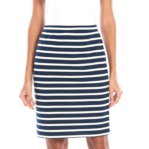 SONOMA Goods for Life™ Midi Pencil Skirt - Women's: