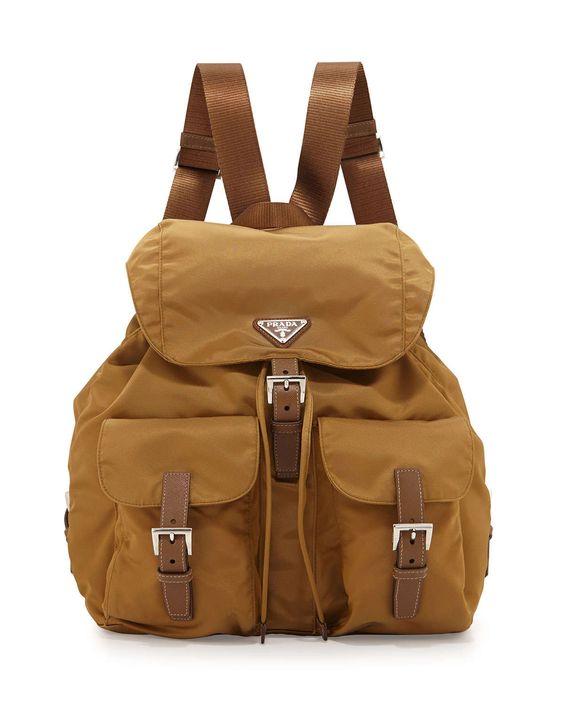 small prada nylon backpack
