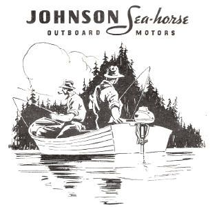 vintage boat motor advertising - Google Search