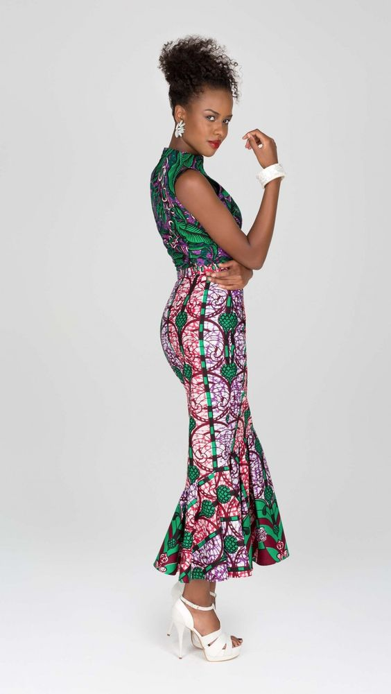 Sculpted silhouette | Vlisco V-Inspired
