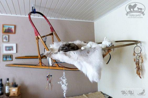 Wie gut dass wir nen alten Holzschlitten im Esszimmer hängen haben :-) Auch im Sommer dann eine Augenweide