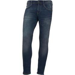 Tom Tailor Denim Herren Culver Skinny Jeans, blau, unifarben
