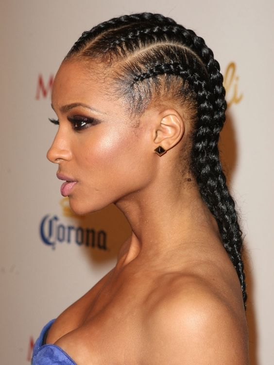Peachy Ethnic Hairstyles African Braids And Your Hair On Pinterest Hairstyles For Women Draintrainus