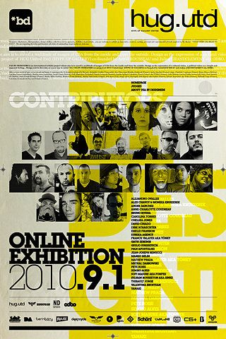 Yellow Type Poster
