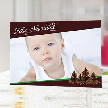 Cartōes personalizados impressos em papel fotográfico premium brilho.  Inclui envelope branco. Formato 13 x 18 cm.