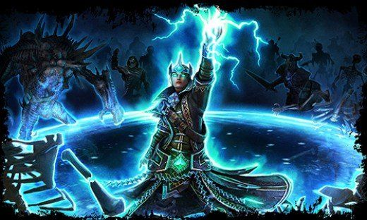 Grim Dawn Arcanist Build Guides For Beginners Battle Mage Dawn Mage