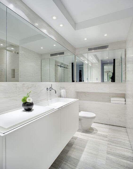 39 Galley Bathroom Layout Ideas To Consider Marble Bathroom Designs Minimalist Bathroom Design White Marble Bathrooms