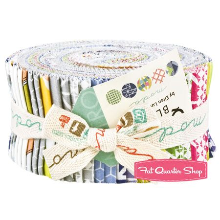 Quilt Blocks Jelly Roll Ellen Luckett Baker for Moda Fabrics
