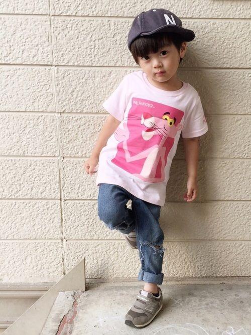 ピンクパンサーのTシャツ