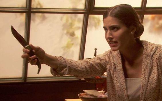 IL SEGRETO, PUNTATA DI MERCOLEDI 7 SETTEMBRE 2016: AMALIA VUOLE PUGNALARE BELTRAN MA FERISCE BOSCO - VIDEO ANTICIPAZIONI Severo (Chico Garcia) rimane a fissare Sol (Adriana Torrebejano) senza riuscire a dire una parola, tant'è che la donna chiede a Carmelo cos'abbia il suo amico. Quando Sol dice non ha tempo da perdere #ilsegreto #amalia #bosco #beltran