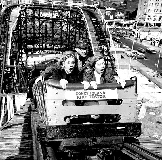 Vintage photos of Coney Island