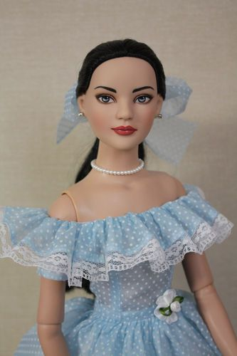 "pretty ooak dress for 22"" American Model doll"