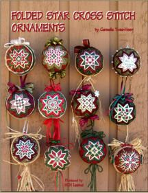 Folded Star Cross Stitch Ornament EBook  by Carmella Troisi-Hoerr from HCH Limited