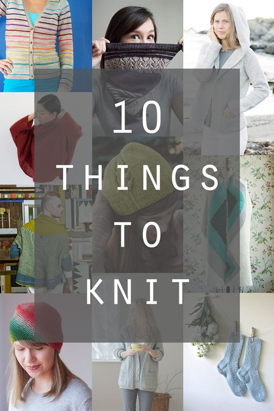 10 Amazing Knitting Patterns to Try