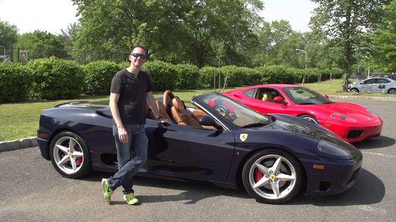 Rob Ferretti détruit le pare brise de sa Ferrari 360 Modena avec une batte de baseball