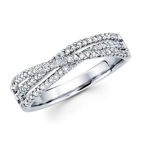 Diamond Wedding Band Ring Ecclesiastes A Cord Of 3 Strands Is Not Easily Broken Husband Wife And