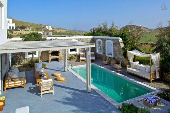Regardez ce logement incroyable sur Airbnb : 4 bd, views, nightlife, beaches - Villas à louer à Míkonos