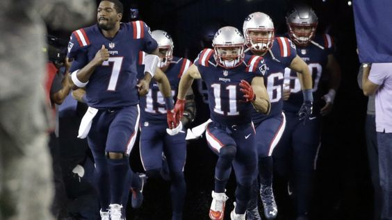 Watch the Patriots backup quarterback pancake a Texans defender