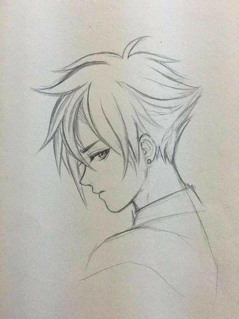53 Ideas For How To Draw Hair Anime Boy Anime Drawings Boy Anime Drawings Anime Drawings Sketches