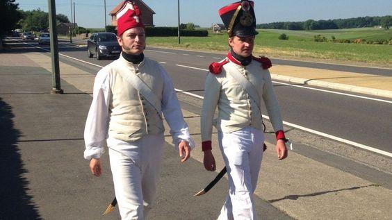 Bicentenaire de la bataille de Waterloo: dans la tête des reconstituteurs