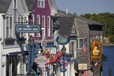 14 small towns big that are big on charm, like Bar Harbor, Maine and St. Michaels, Maryland.