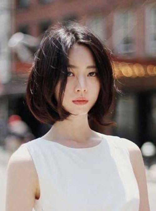 Lovely Popular Asian Hairstyles For 2018 2019 Nails C Asian Short Hair Korean Short Hair Asian Hair