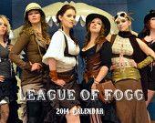 The League of Fogg Steampunk 2014 Calendar