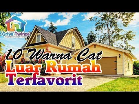 Kombinasi Warna Cat Tembok Rumah Bagian Luar Di 2020 Warna Cat