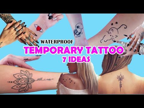 7 Ways How To Make Temporary Tattoo At Home Easy And Waterproof Mac Makeup Web In 2020 Make Temporary Tattoo Diy Temporary Tattoos Temporary Tattoos