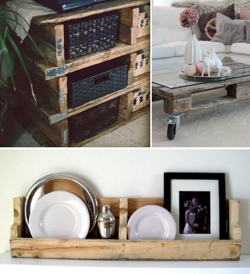 Bargain Saturday: 10 Ways to Use Wooden Pallets as Furniture, Decor, Storage & More