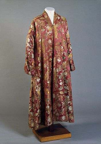 Peter the Great`s silk robes